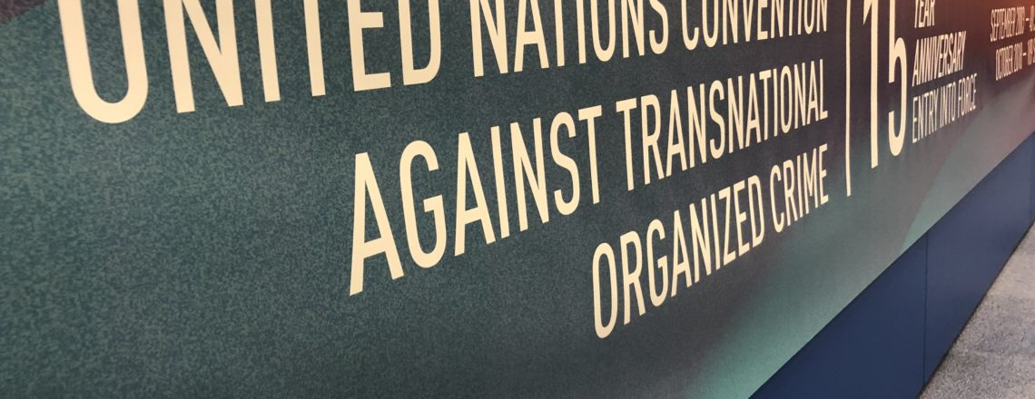 United Nations Convention Against Transnational Organized Crime – 9th COP